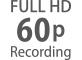 24p'den 60p'ye varan Full HD kare hızları