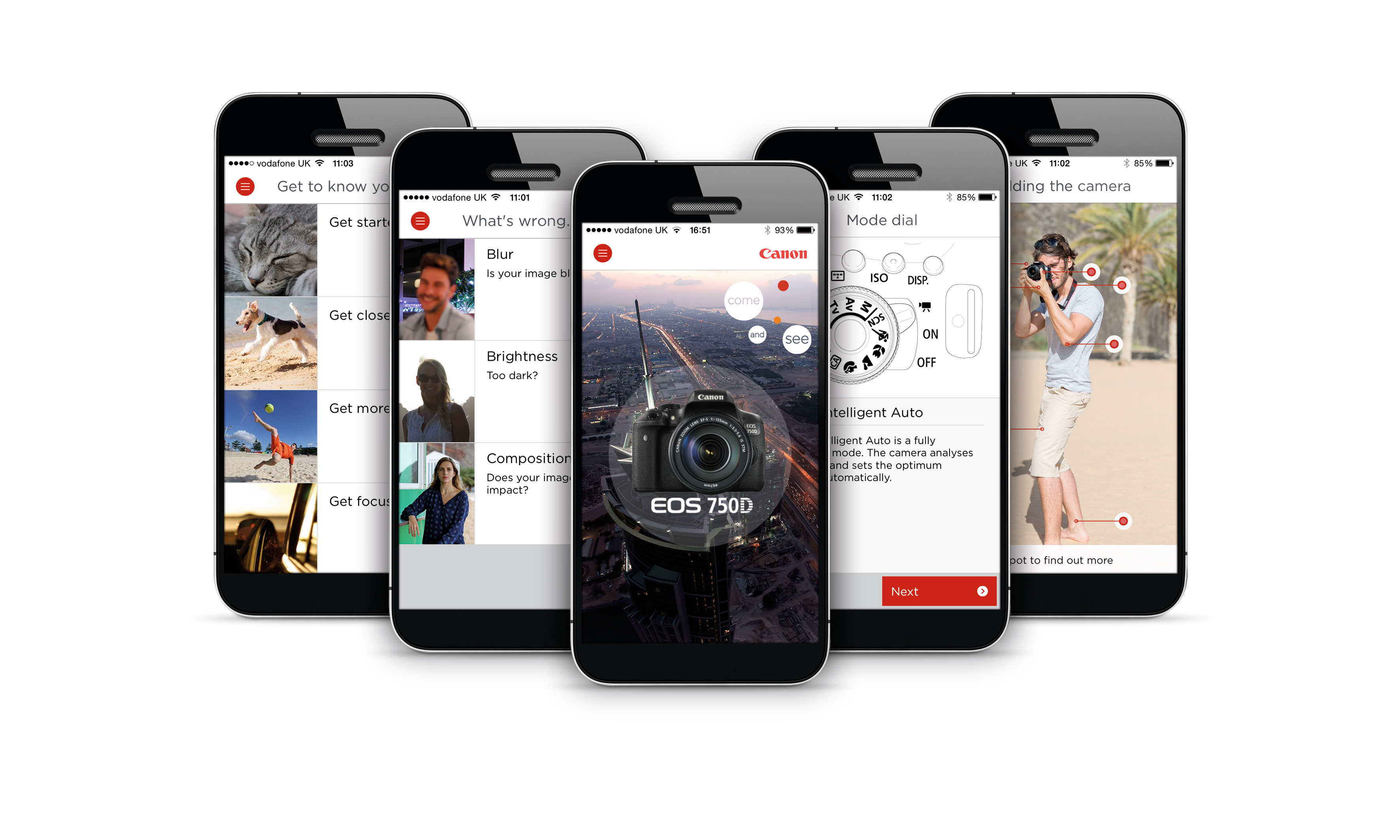 750D Uygulaması Canon