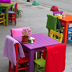 Coloured tables